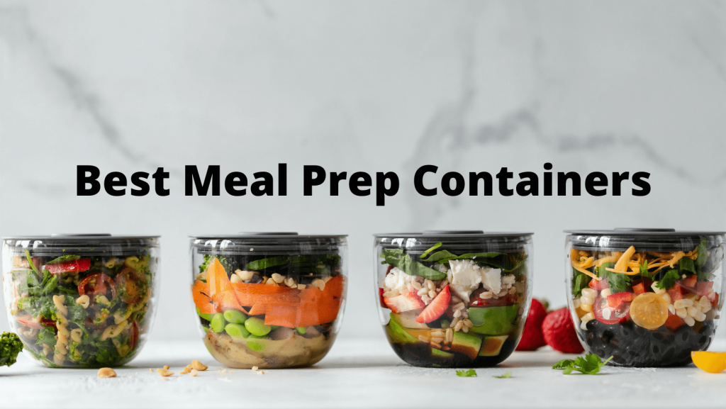Best Meal Prep Containers banner